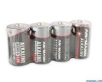 Alkaline Batteries – LR20 D 1.5V – 4 by pack