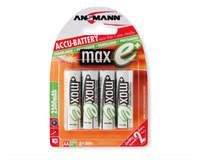 Accumulateurs NiMh Préchargés MaxE - AAA 800mAh 1.2V - blister de 4-3062