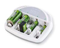 Chargeur de Batteries NiCd/NiMH Basic 5 Plus – Pour AA / AAA / C / D / Batterie 9V