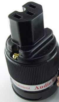 IEGO - IEC Connecteur Femelle Cuivre Plaqué Or 24K - 8085-0