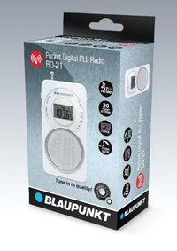 BLAUPUNKT - BD 21 - Radio Digitale de Poche FM/MW - Blanc-3036