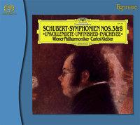 SCHUBERT / Symphony Nos. 3 & 8 – SACD
