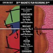 MOZART & HINDEMITH / Violin Concertos