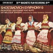 PROKOFIEV & SHOSTAKOVICH / Lt. Kije & Symph N°9