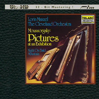 MOUSSORGSKY / Pictures At An Exhibition