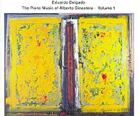 EDUARDO DELGADO / The piano music from Alberto Ginastera