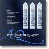 THE ALLEGRI STRING QUARTET / Haydn, MacMillan, Schubert