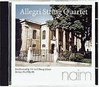 THE ALLEGRI STRING QUARTET / Beethoven, Britten-0