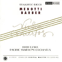 MENOTTI & BARBER / Violin Concerti-0