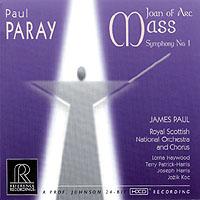 PAUL PARAY / Symphonie n°1 & Jeanne d'Arc – James Paul