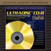 5 CD-R Vergine MFSL ULTRADISC 24K
