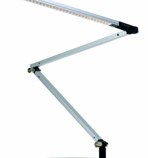 KONCEPT – Z Bar Mini – Lampe de Bureau 28 LED – SILVER