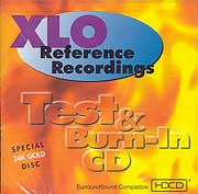 XLO Reference Recordings – Test & Burn-in CD