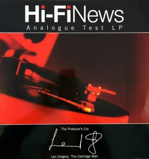 The Cartridgeman – LP Vinyle Test HiFi News