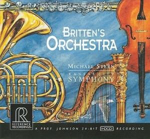BRITTEN'S ORCHESTRA / Stern – Kansas City Symphony