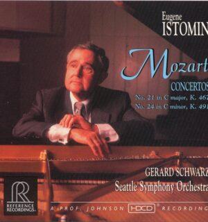 MOZART / Concerto N°21 et 24 – Eugene Istomin