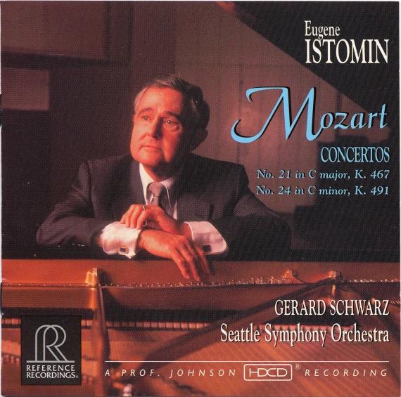 MOZART / Concerto N°21 et 24 - Eugene Istomin-0