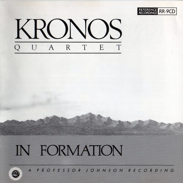 KRONOS QUARTET / In Formation-0