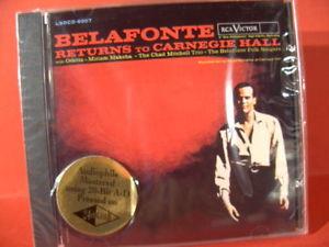 "BELAFONTE "" RETURNS TO CARNEGIE HALL """