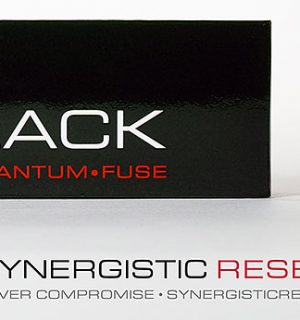 SYNERGISTIC RESEARCH – Fusible Black – Très Haute performances