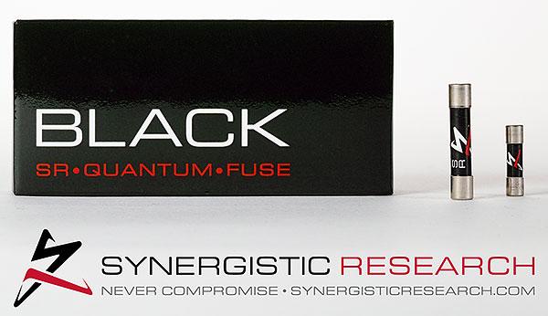 SYNERGISTIC RESEARCH - Fusible Black - Très Haute performances-0