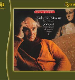 MOZART / Symphonies No. 35, 40, 41 – Kubelik