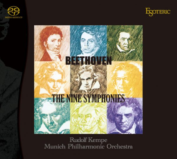 ESOTERIC - BEETHOVEN / The Nine Symphonies - KEMPE-0