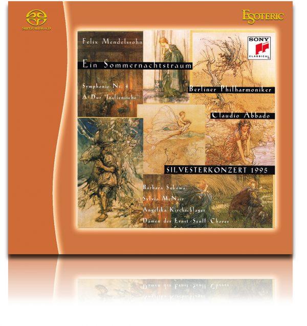 MENDELSSOHN / Ein Sommernachtstraum - Symphony No.4 - Claudio Abbado-0