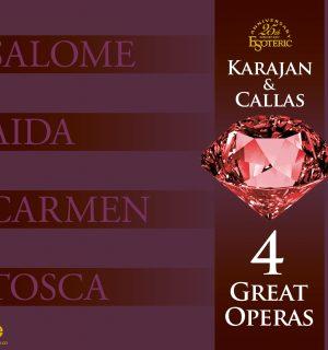 Coffret 4 Great Opéras – CALLAS & KARAJAN – 9 SACDs
