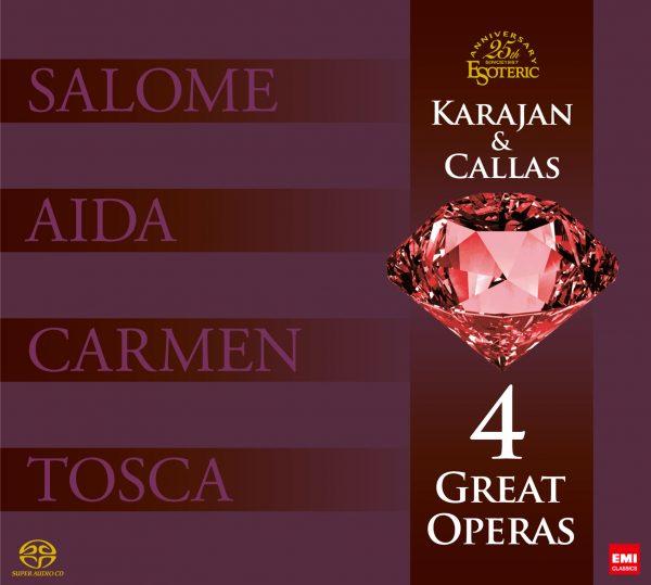 Coffret 4 Great Opéras - CALLAS & KARAJAN - 9 SACDs-0