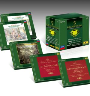 ESOTERIC – Coffret 5 Great Opéras – 9 SACDs