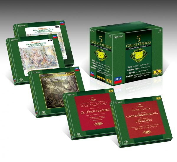 ESOTERIC - Coffret 5 Great Opéras - 9 SACDs-0
