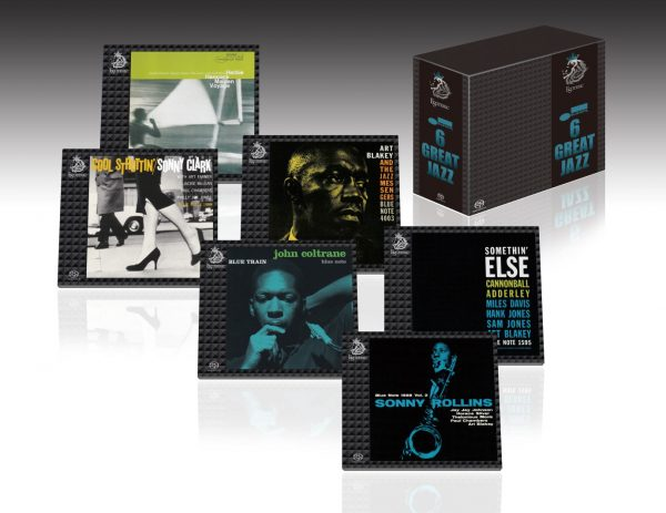 ESOTERIC - Coffret 6 Great Jazz - Blue Note - 6 SACD-0