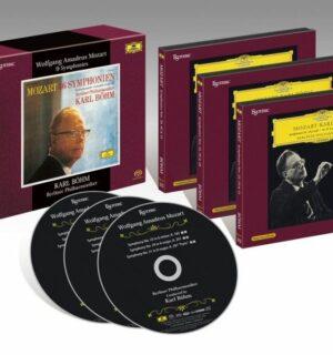 ESOTERIC – MOZART / 9 Symphonies: 25,29,31,35,36,38,39,40 & 41 – Böhm
