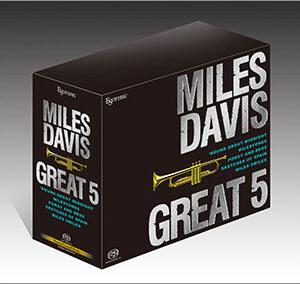 ESOTERIC – Coffret Miles Davis – Great 5 – Coffret 5 SACD
