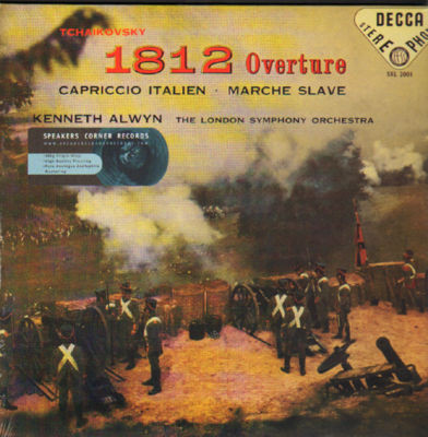 TCHAIKOVSKI / 1812 Overture - Alwyn - London Symphony Orchestra-0