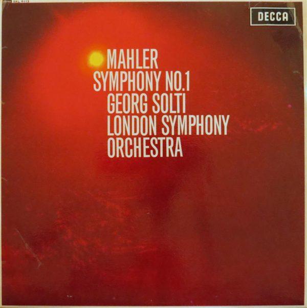 MAHLER / Symphony No.1 - Solti - London Symphony Orchestra-0
