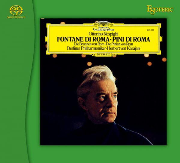 RESPIGHI / Fontane Di Roma - Pini Di Roma - Karajan-0