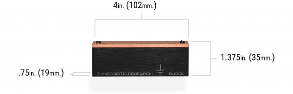 SYNERGISTIC RESEARCH - Ground Block-6137