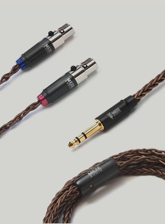 MEZE AUDIO - Empyrean - Câble asymétrique 6,35mm-0